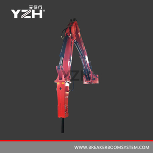 YZH-XL1200 Pedestal Rock Breaker Boom System for Mobile Crusher